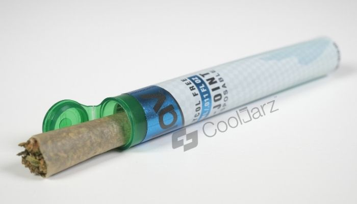 Translucent Green 98mm Tamper-Evident Branding Pre-Roll Shrink Sleeve Labels