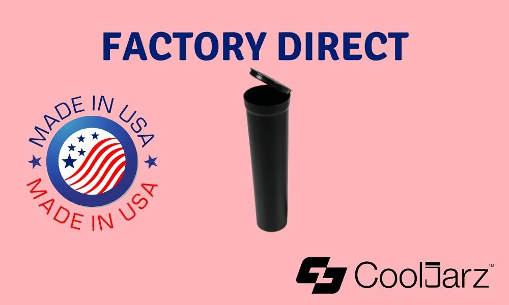 black 114mm wide tapered tubes factory direct made in usa