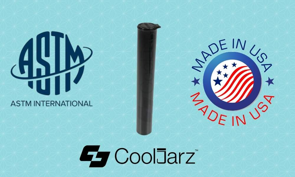 Black 116mm pre-roll Tubes astm certified made in usa