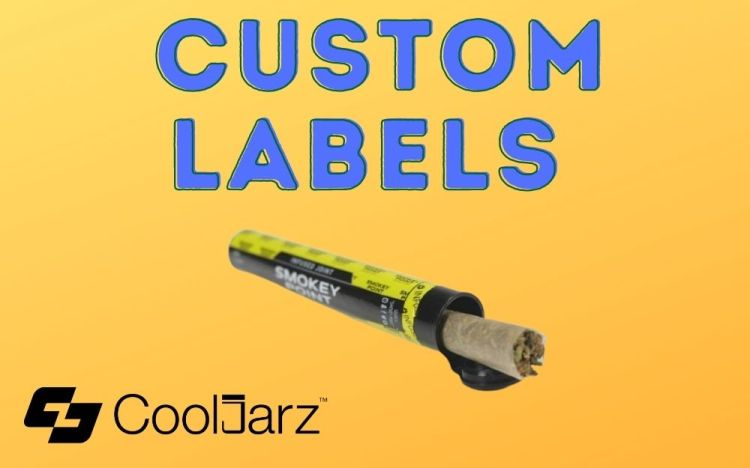 custom labels for joint tubes and pre roll tubes