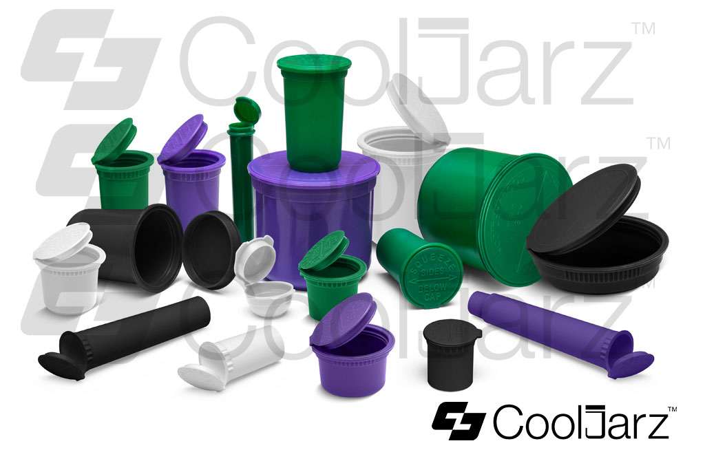 various pop top pre-roll containers