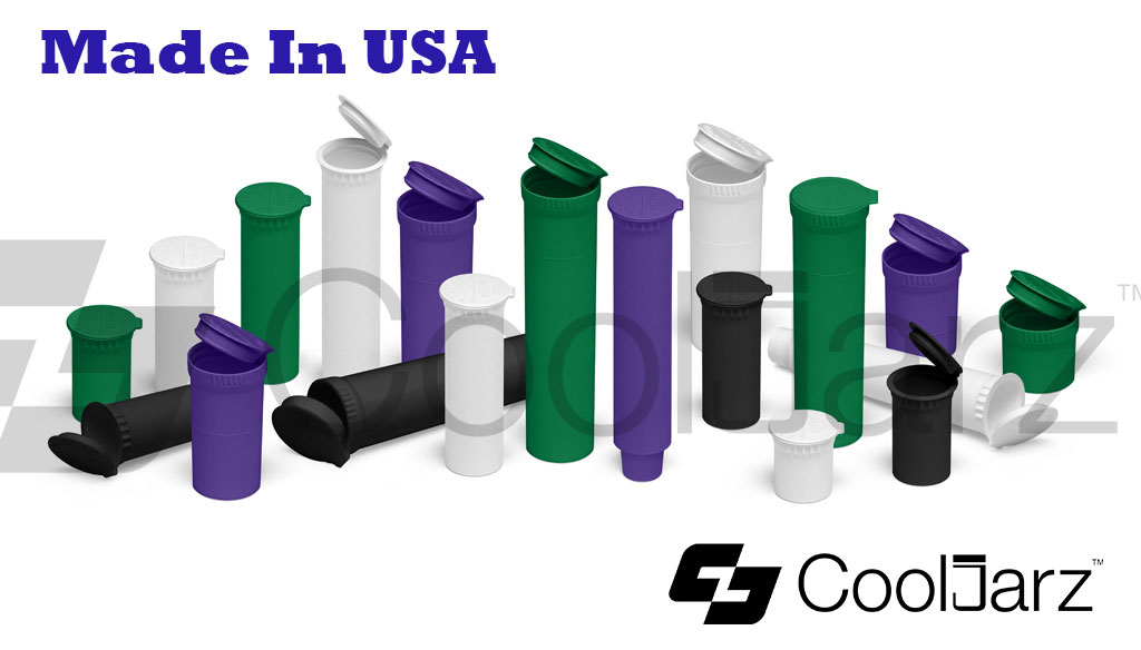Different Sizes of Pop-Top Tubes for joints blunts edibles carts
