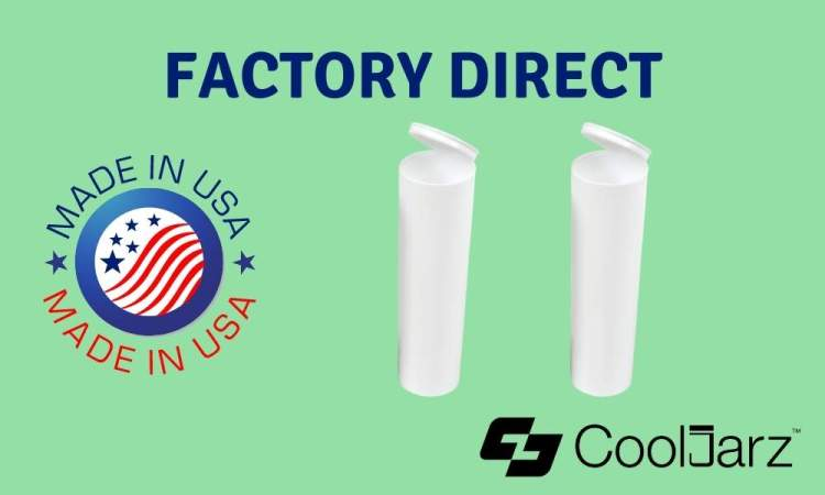 plastic white 114mm extra wide pre-roll tubes doob tubes factory direct made in usa