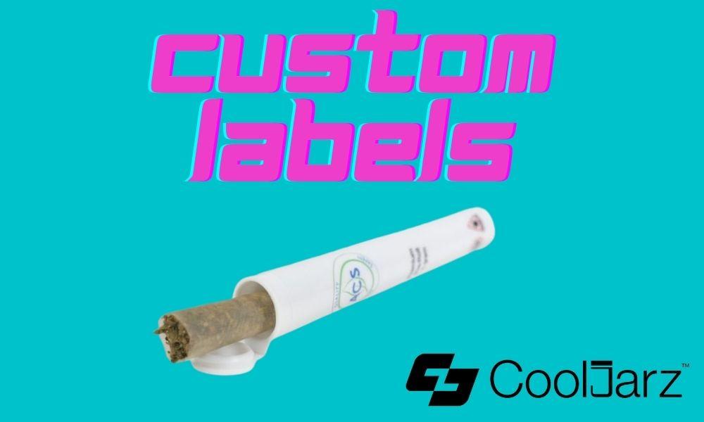 white 68mm vape cartridge tubes custom shrink sleeve label