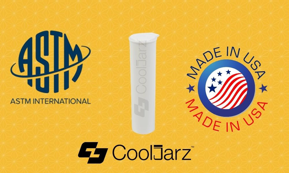 white 68mm vape cartridge tubes made in usa astm certified