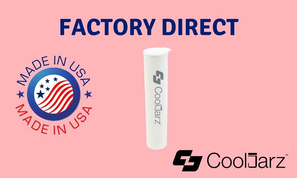 Buy Factory-Direct And Made in The USA White 78mm Pre-Roll Tubes