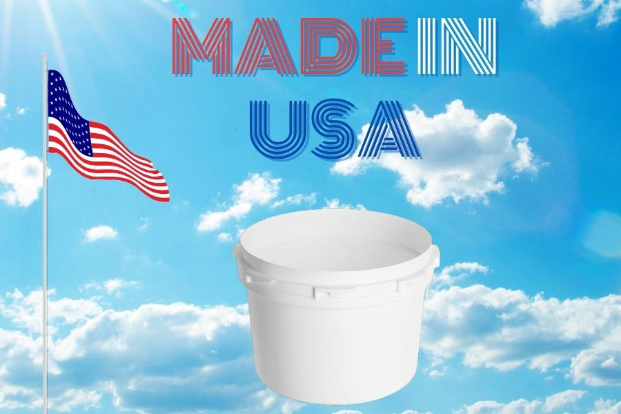 Child Resistant 60 Dram Container Made in usa