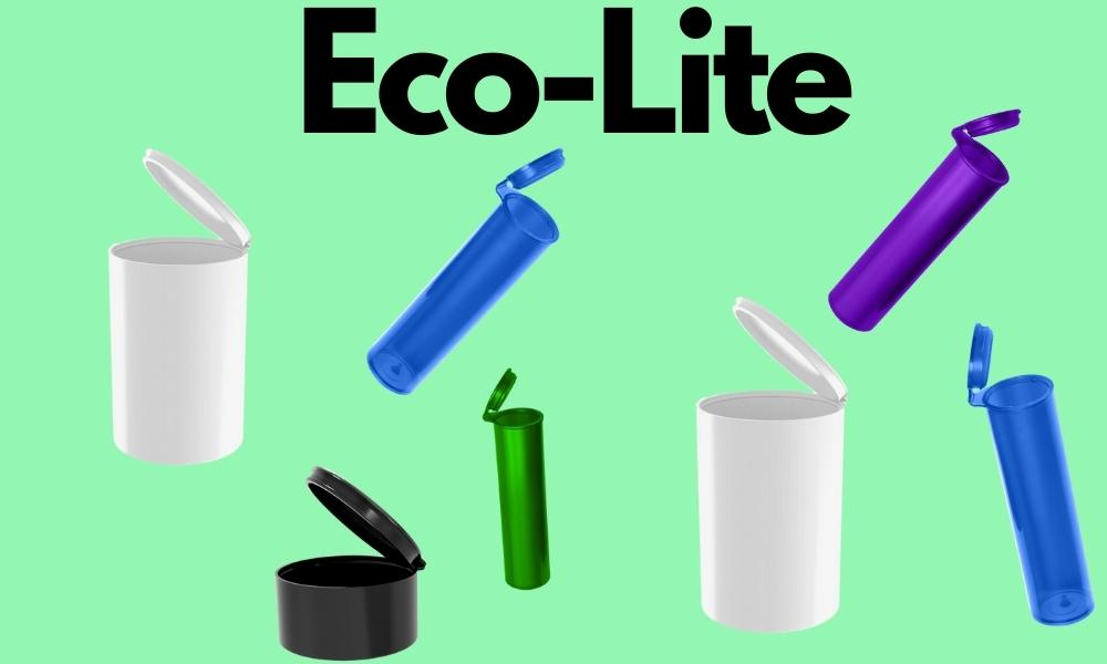 Eco-Lite eco-friendly line of sustainable plastic pre roll tubes